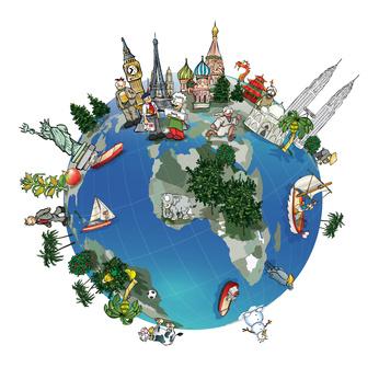 Le Monde vu par UniMédia