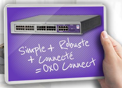 Alcatel OXO – Plateforme robuste, convergée et connectée !